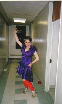 80's prom queen